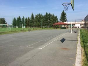 Nohejbalové, basketbalové hřiště