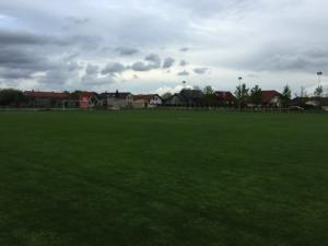 Fotbalový stadion - hřiště