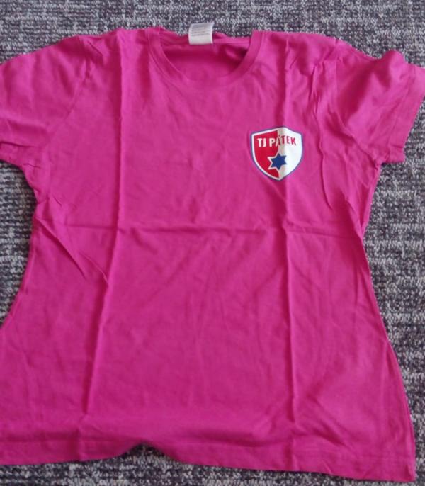 Růžový dres TJ PÁTEK