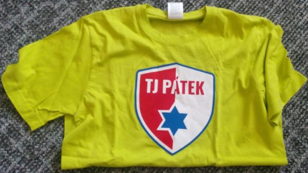 Zelený dres TJ PÁTEK